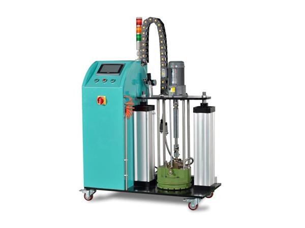 压盘式5加仑热熔胶机